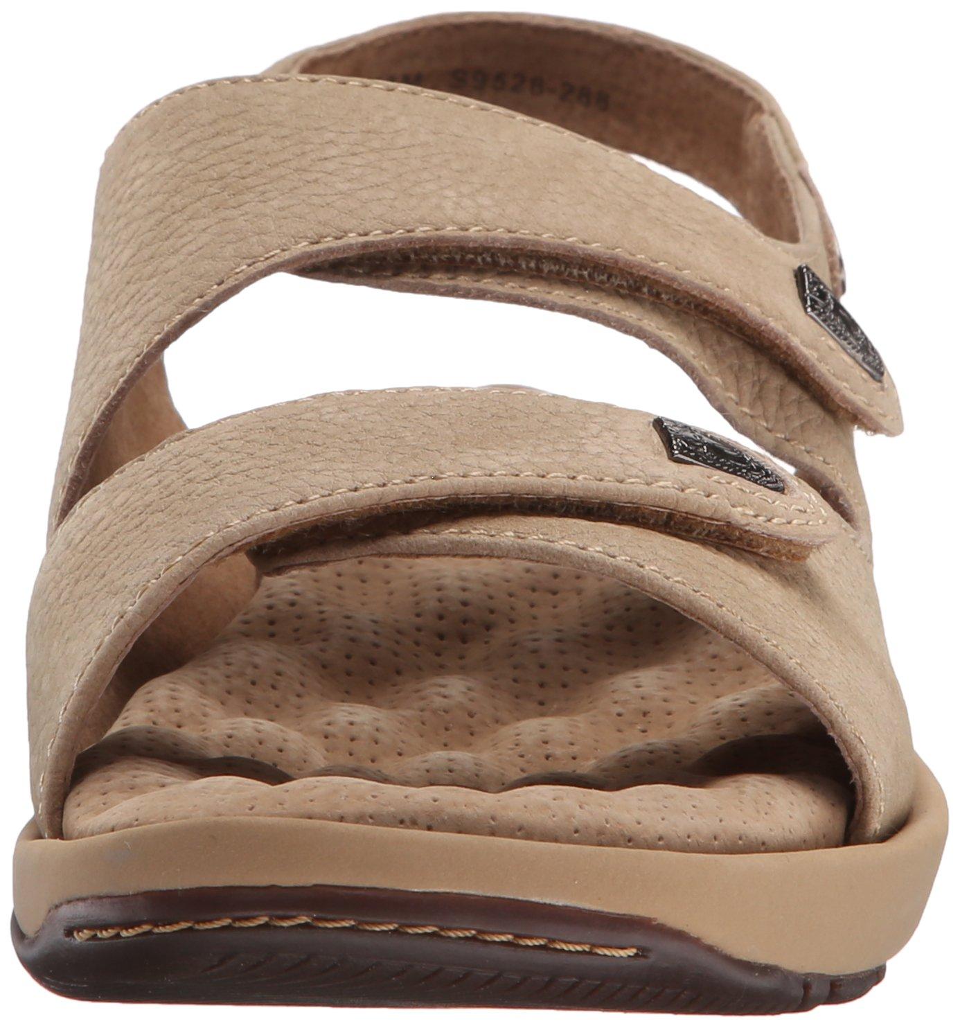 SoftWalk Women's Bolivia Sandal B002J9GYSM 9.5 XW US|Sand Tumbled Nubuck
