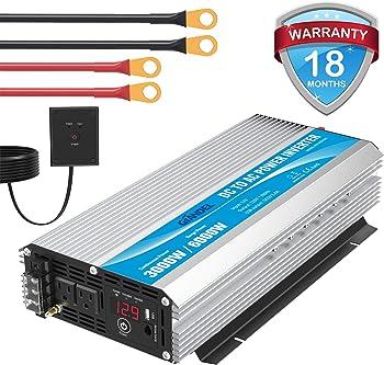 Giandel 3,000-watt Power Inverter
