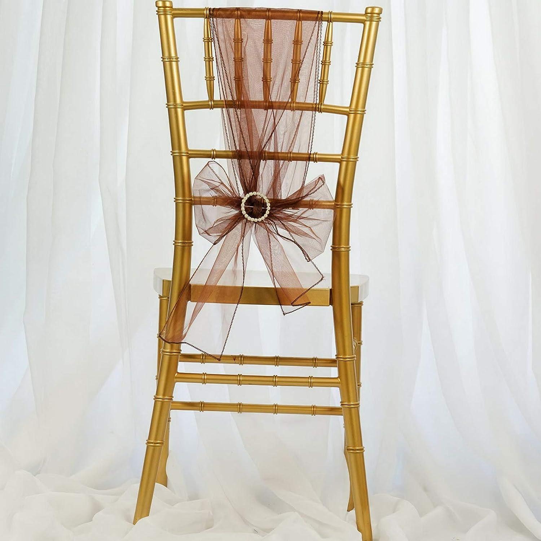 Mikash オーガンザ 椅子用サッシュ 蝶ネクタイ 結婚披露宴の装飾 ディナー卸売 モデルWDDNGDCRTN - 3787 25 pcs ホワイト childweddingdecoration-4101 B07RF87T4G cl 22 25 pcs
