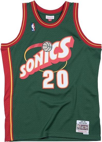Mitchell /& Ness Seattle Supersonics Gary Payton Jersey Green