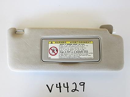 Amazon.com  01 02 LEXUS RX300 RIGHT PASSENGER SIDE INTERIOR SUN VISOR  SUNVISOR BEIGE V4429  Everything Else 6c2b507db6a