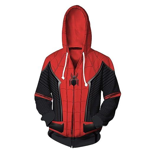 Dark Eyes 3D Mens Hoodie Jacket Superhero Halloween Cosplay Costume
