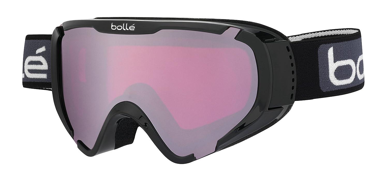Amazon.com   Bolle 21376 Explorer OTG Shiny Black - Vermillion Gun Ski  Goggles   Sports   Outdoors 87fc29e2bcb