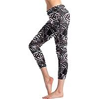 KEEPRONE Women's Swim Pants High Waist Tummy Control Long Swimming Tights UPF 50+ Capris Built-in Liner Outdoor Sport…