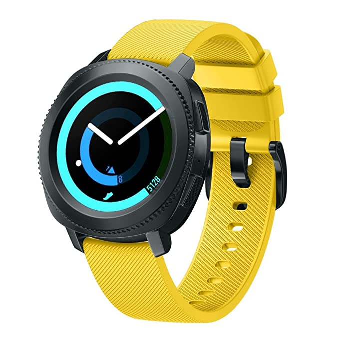 Correa de Relojes Cómoda y Durable, YpingLonk Adecuado para Silicona Resistente al Desgaste Samsung Gear
