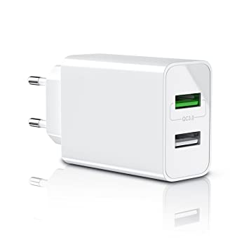 CSL-Computer 30W Cargador USB 3.0 Quick Charge de Dos ...