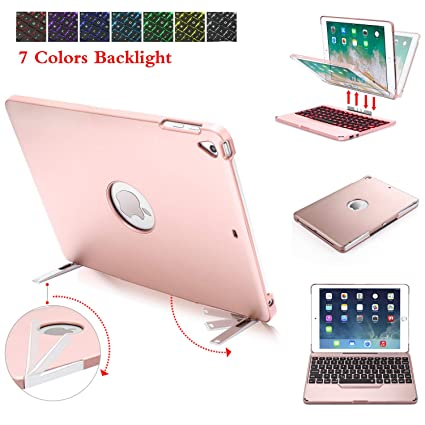 low priced fa158 3562c Amazon.com: iPad 9.7 Keyboard Case Detachable,NewKee Case with ...