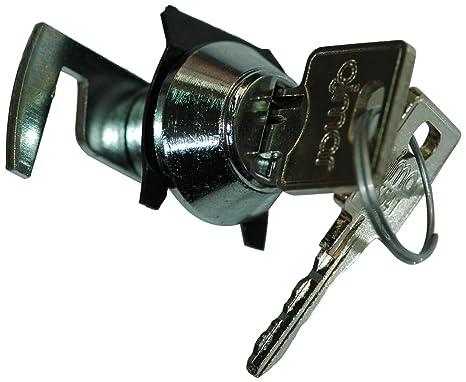 Ojmar 0508 CR VAR - Cerradura con leva plana de gancho, 11 mm