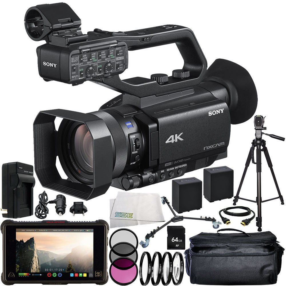 Amazon.com : Sony HXR-NX80 Full HD XDCAM with HDR & Fast ...