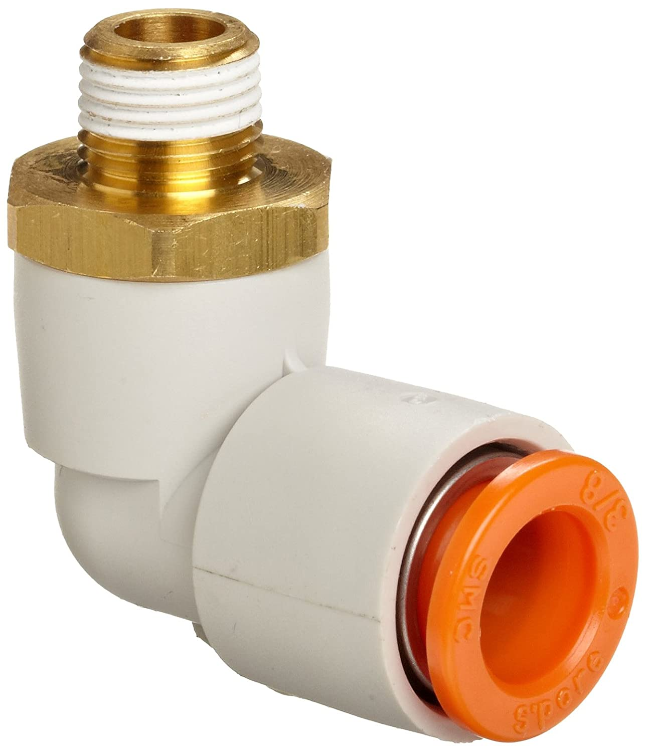 USA Sealing Push to Connect Tube Fitting Polybutylene Plastic 1//4 Tube OD x 1//8 BSPT Male Male Straight