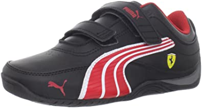 PUMA Drift Cat 4 Ferrari Leather V Kids Sneaker (Toddler Little Kid Big ec6cce475