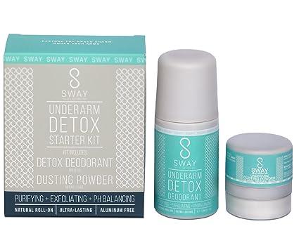 Best Natural Deodorant 2020.Sway Detox Deodorant For Women Best Natural Deodorant That Works Aluminum Free And Long Lasting