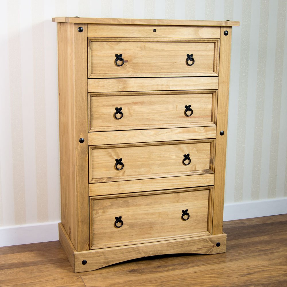 Pine Bedroom Chest Of Drawers Chest Of Drawers Shop Amazon Uk