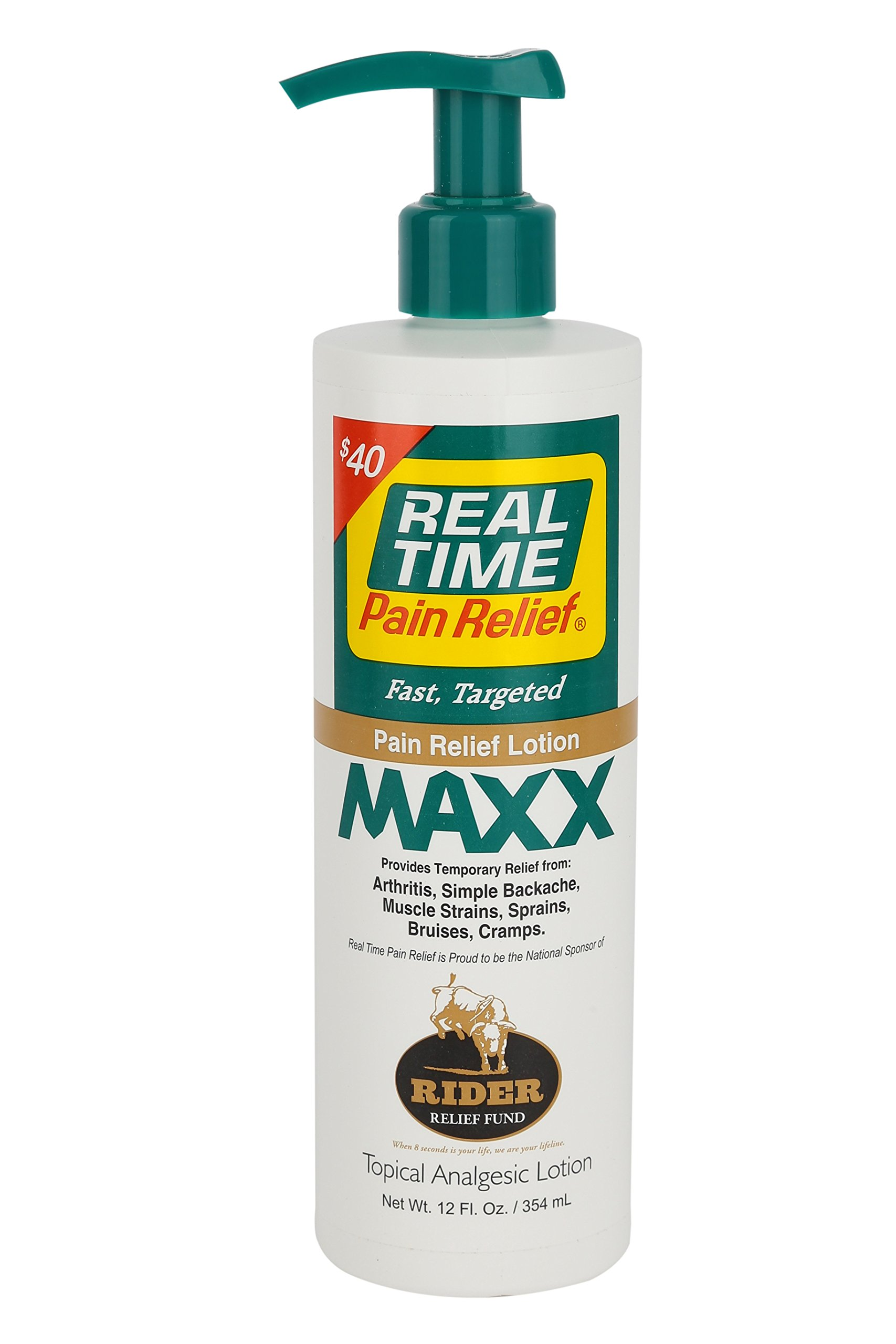 Real Time Pain Relief Maxx, 12 Ounce