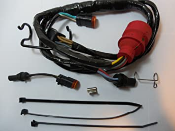 71ool96b1QL._SX355_ amazon com oem evinrude johnson adapter kit 176349 automotive Trailer Wiring Harness Adapter at gsmx.co