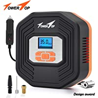 Air Compressor Tire Inflator, DC 12V Digital Tire Inflator with Digital LCD Display and 3 Modes… photo