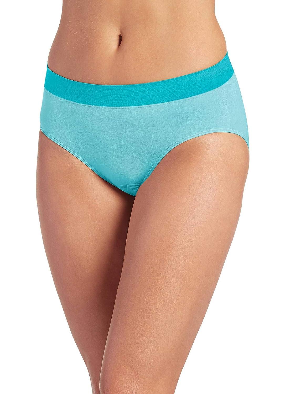 aaf153f57ec Jockey Women s Underwear Modern Micro Seamfree Hi Cut at Amazon Women s  Clothing store  Briefs Underwear