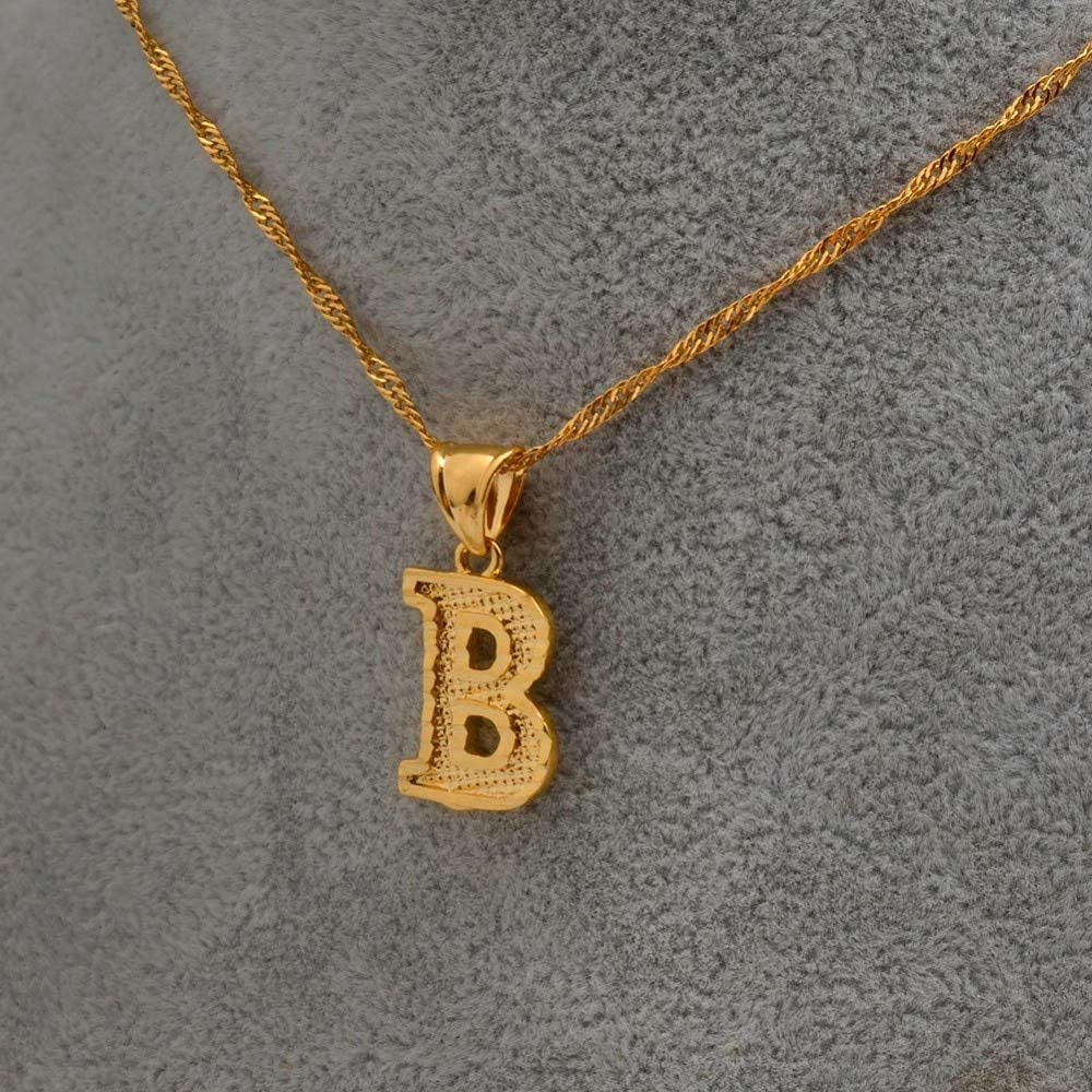 Letter N,60cm or 23.6inch Leo-4Beauty-Small Letters Necklaces for Women//Girls Gold Color Initial Pendant Thin Chain English Letter Jewelry Alphabe Gift #058002