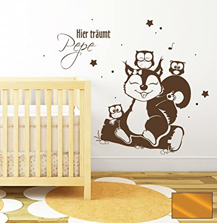 Badger cute animals kids nursery room wall art decal wall stickers owls owl forest animals m1409