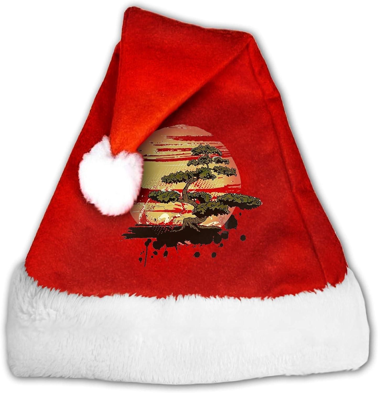 Bonsai Tree Karate Dojo - Gorro de Navidad con diseño de Papá Noel
