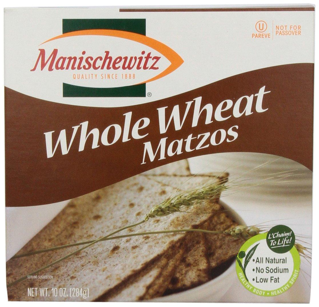 Manischewitz Whole Wheat Matzo, 10 oz cfuda