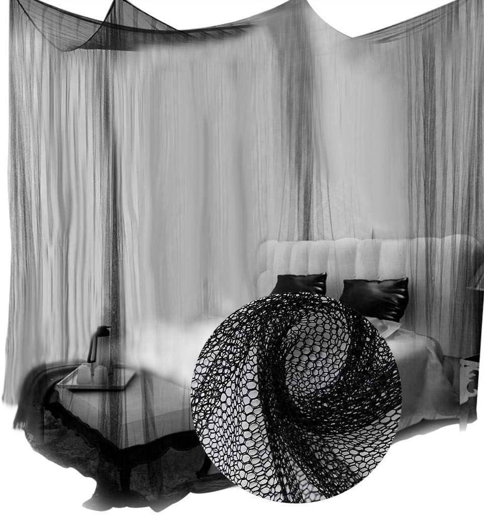 White 4 Corner Mosquito Net 4 Corner Mosquito Net Bedroom Canopy 190 * 210 * 240 cm Canopy Bedding Net Mosquito Net Use for Bedroom