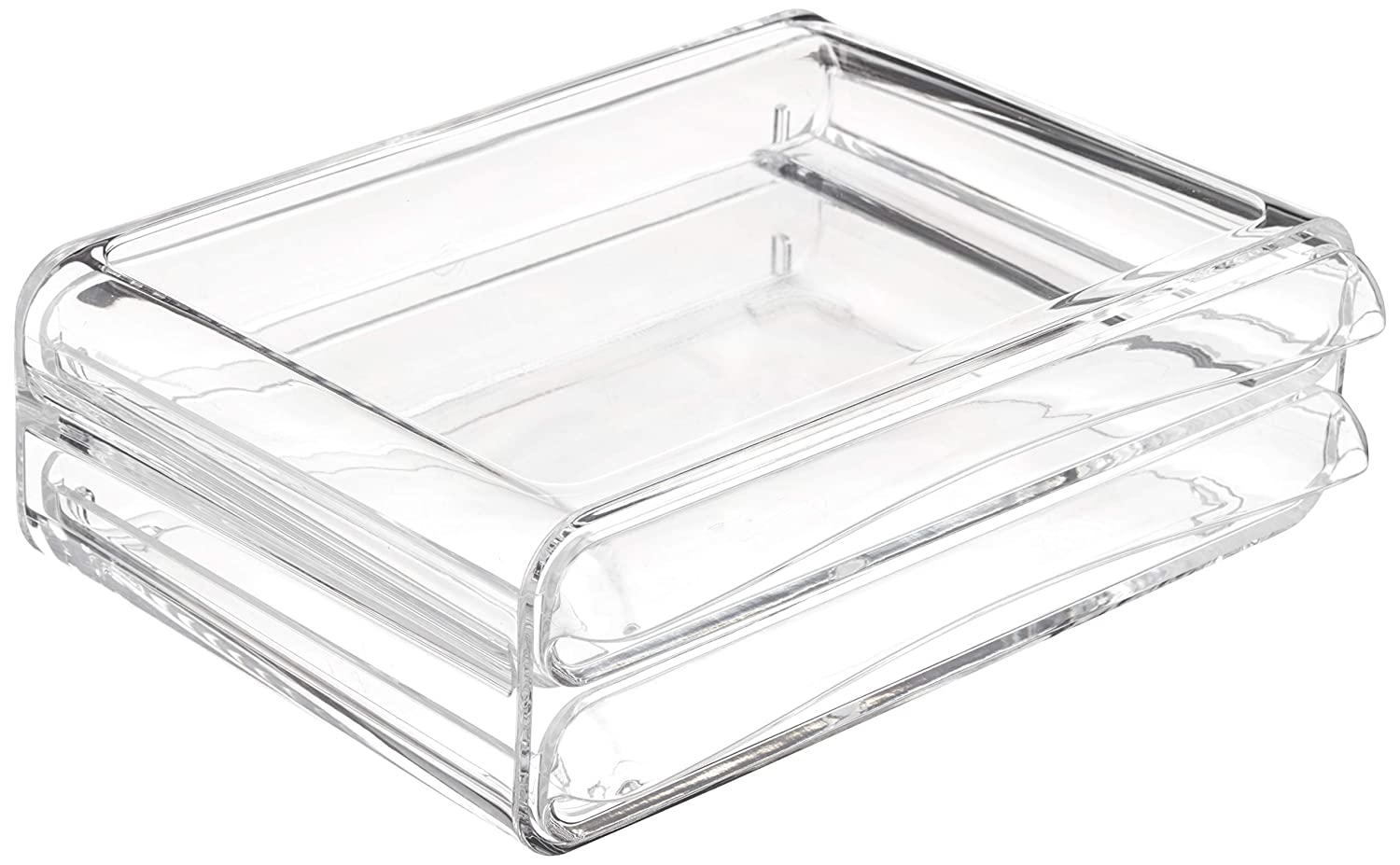 AmazonBasics 2-Drawer Acrylic Beauty Organizer
