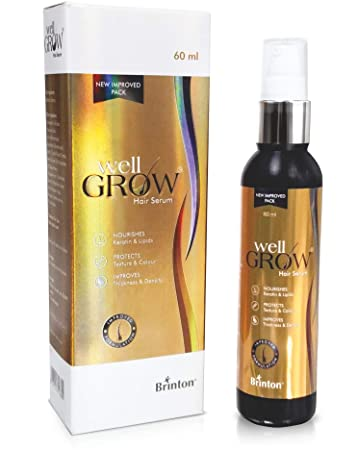 Buy Brinton Wellgrow Anti Hair Loss Serum For Hair Care Women Men 60 Ml Online At Low Prices In India Amazon In