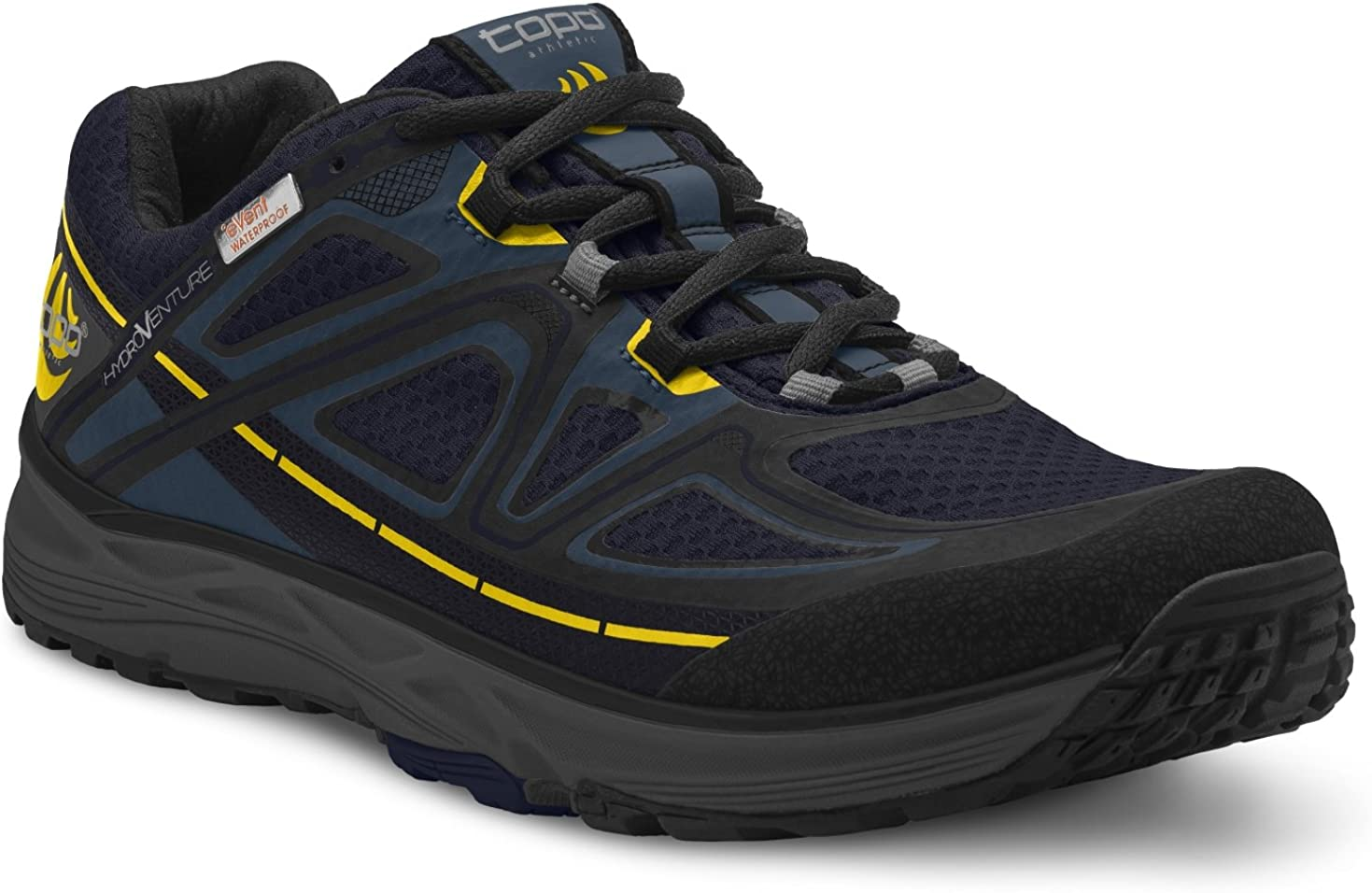 Topo Athletic Hydroventure Running Shoe – Men s Navy Black 11