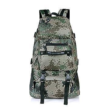 Mochila de trekking impermeable, mochila Locallion para hombre, 40 l / compartimento separado para