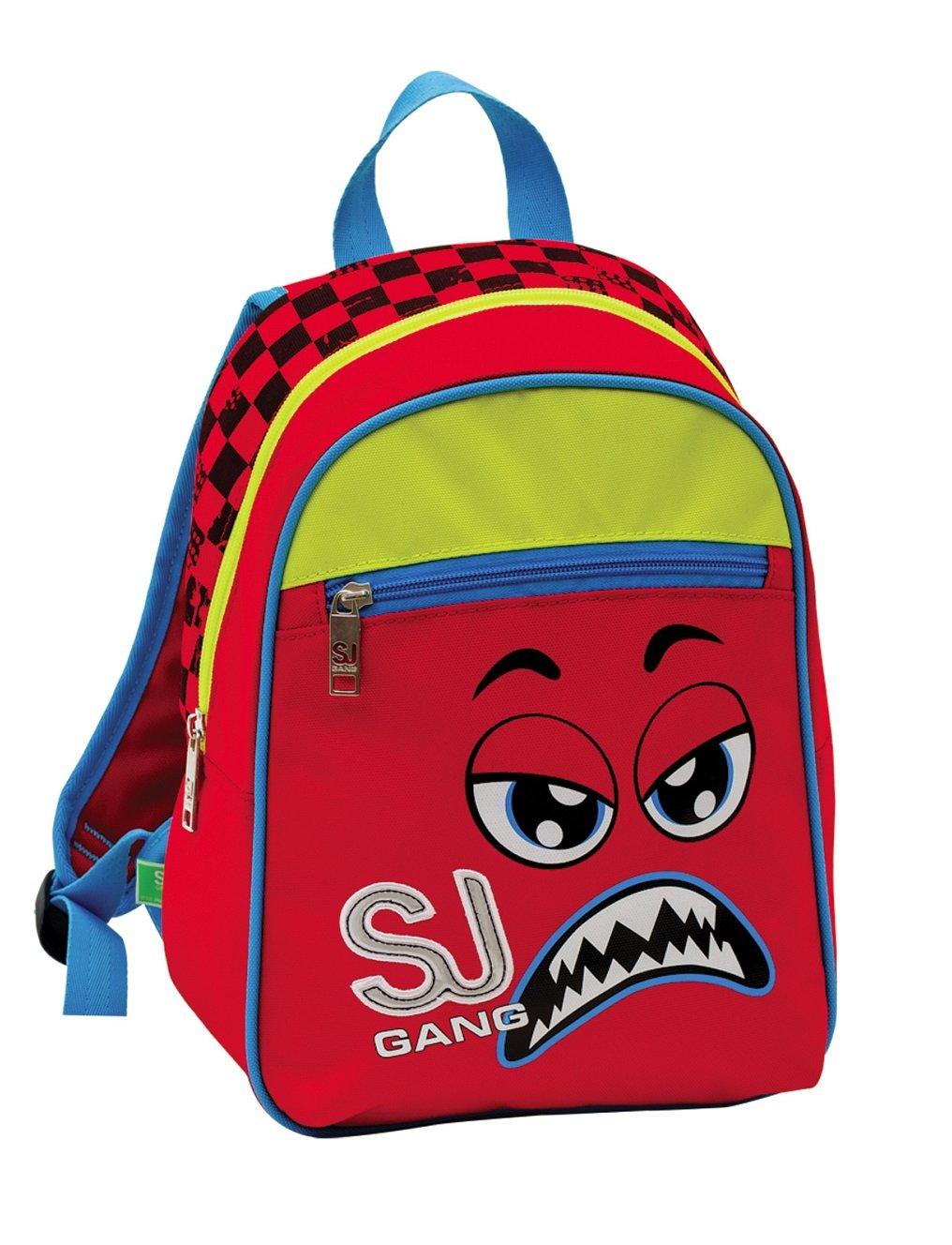 SmallバックパックSeven – SJ面 – レッドイエロー – 12リットル学校   B01F3ZDLQQ