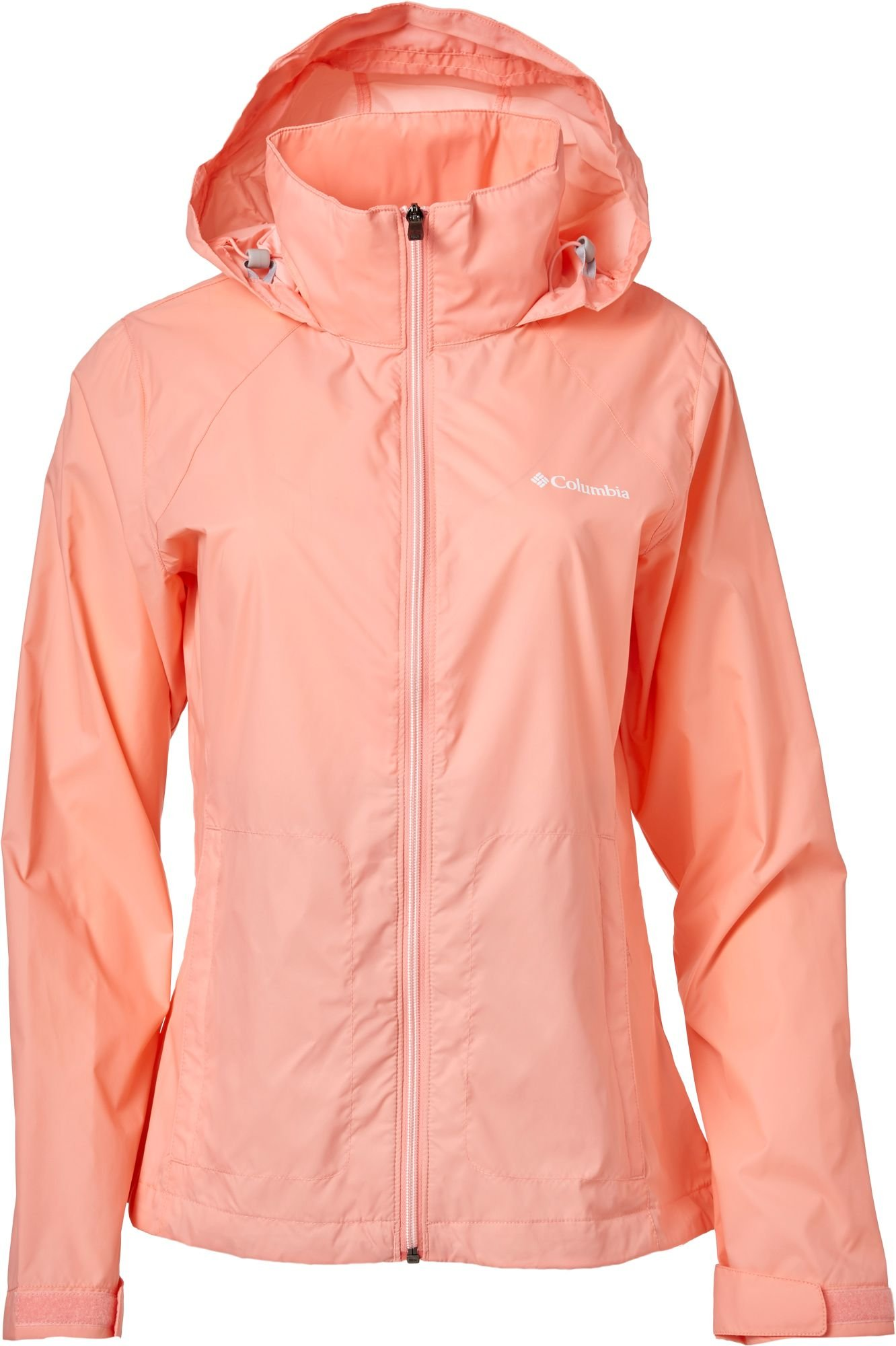 Columbia Women's Switchback Rain Jacket (Sorbet, Medium)