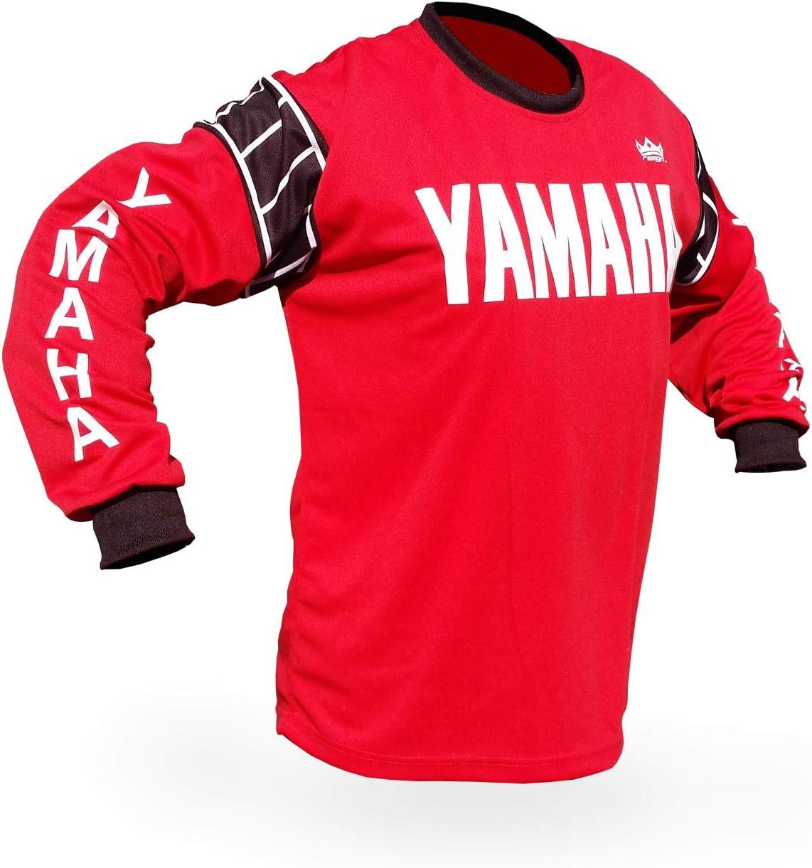 Reign VMX Yamaha Speed Block Vintage Style Motocross Jersey