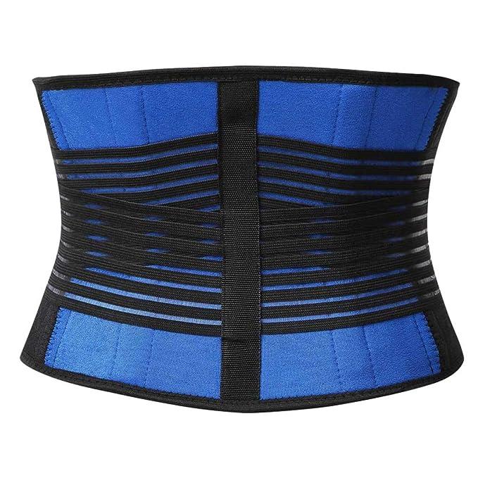 c00b9f5ea Mymyguoe Cinturón de Abdomen posparto cinturón para Adelgazar cinturón de plástico  Faja Cinturón Entrenador Body Shaper Sauna Cinturón Power Sweat Trimmer ...