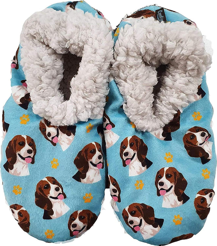 Beagle Super Soft Womens Slippers