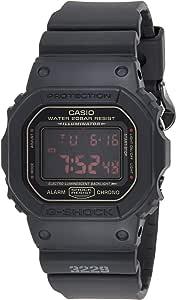 Casio Mens Quartz Watch, Digital Display and Resin Strap DW-5600MS-1DR
