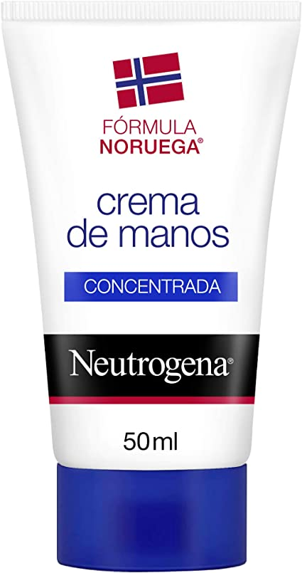 Neutrogena Crema de Manos Concentrada Con Perfume, Alivio