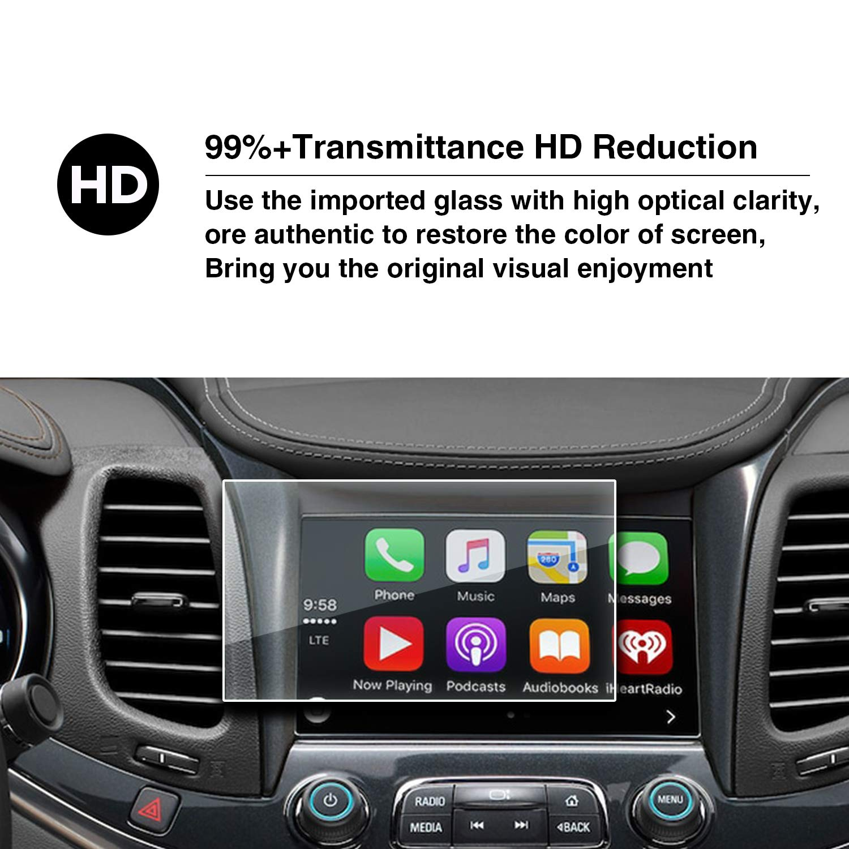 YEE PIN Car Screen Film LS LT LTZ 1LT 2LT Premier My Link 8 Inch Protects Tempered Glass HXY
