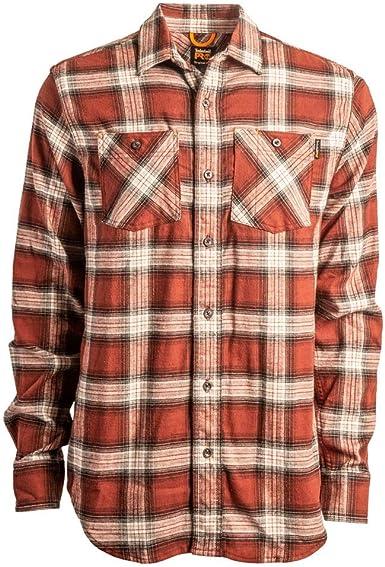 Timberland PRO A1P41 Woodfort Flex Camisa de trabajo de franela para hombre: Amazon.es: Ropa y accesorios