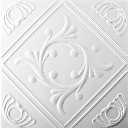 Pannelli Soffitto In Polistirolo 08107 Pacco 112 Pz 28 Mq Bianco