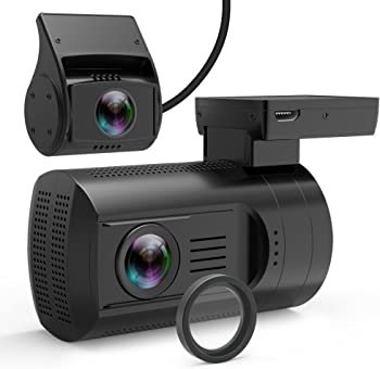 Veckle Mini 0906 Dual Channel 1080P FHD Dashboard Cam Recorder