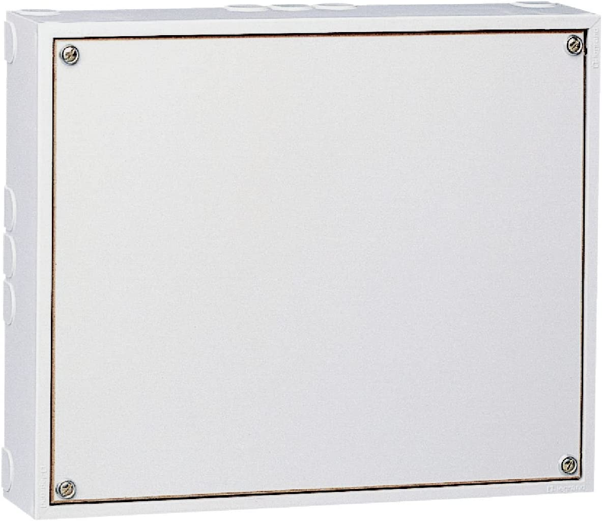 Legrand LEG39120 - Carcasa para cuadro eléctrico (protección IP20, IK 08, 125 x 150 x 35mm), color blanco