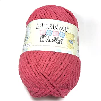 Bernat Baby Blanket Yarn Coral Crocus Discontinued Color