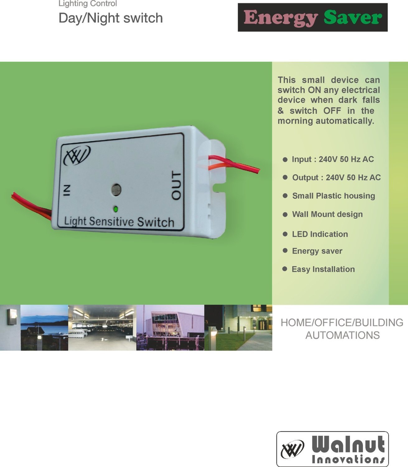Day Night Switch Light Sensor Automatic Home Circuit Sensitive With Ldr 2n2926 Automation