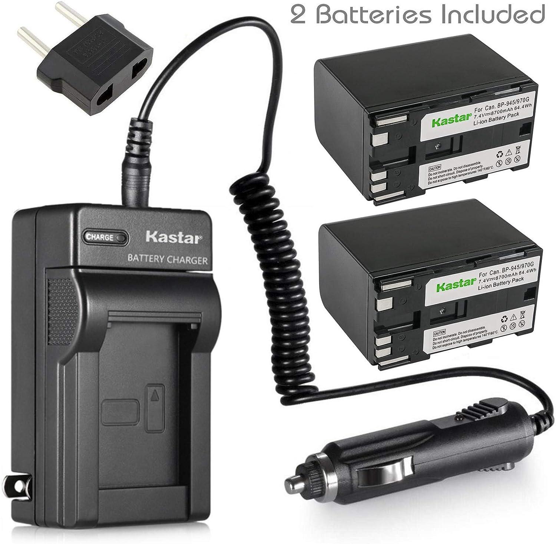 UC-X55Hi MV200 XH A1 ES-8100V ES-7 Premium Battery for Canon ES-4000 G10Hi