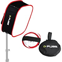 "Kamerar D-Fuse Collapsible Portable Softbox For 1X1 Studio LED Panel L 12"" x 12"""