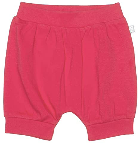 Emma Organic Cotton Shorts for Baby Boy or Girl Finn 0-3 Months Rose Red