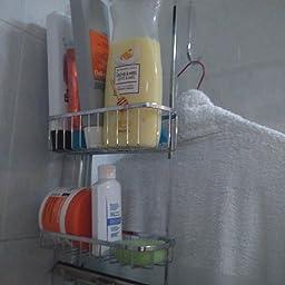 InterDesign - Gia - Organizador de cubículo de ducha, con ...