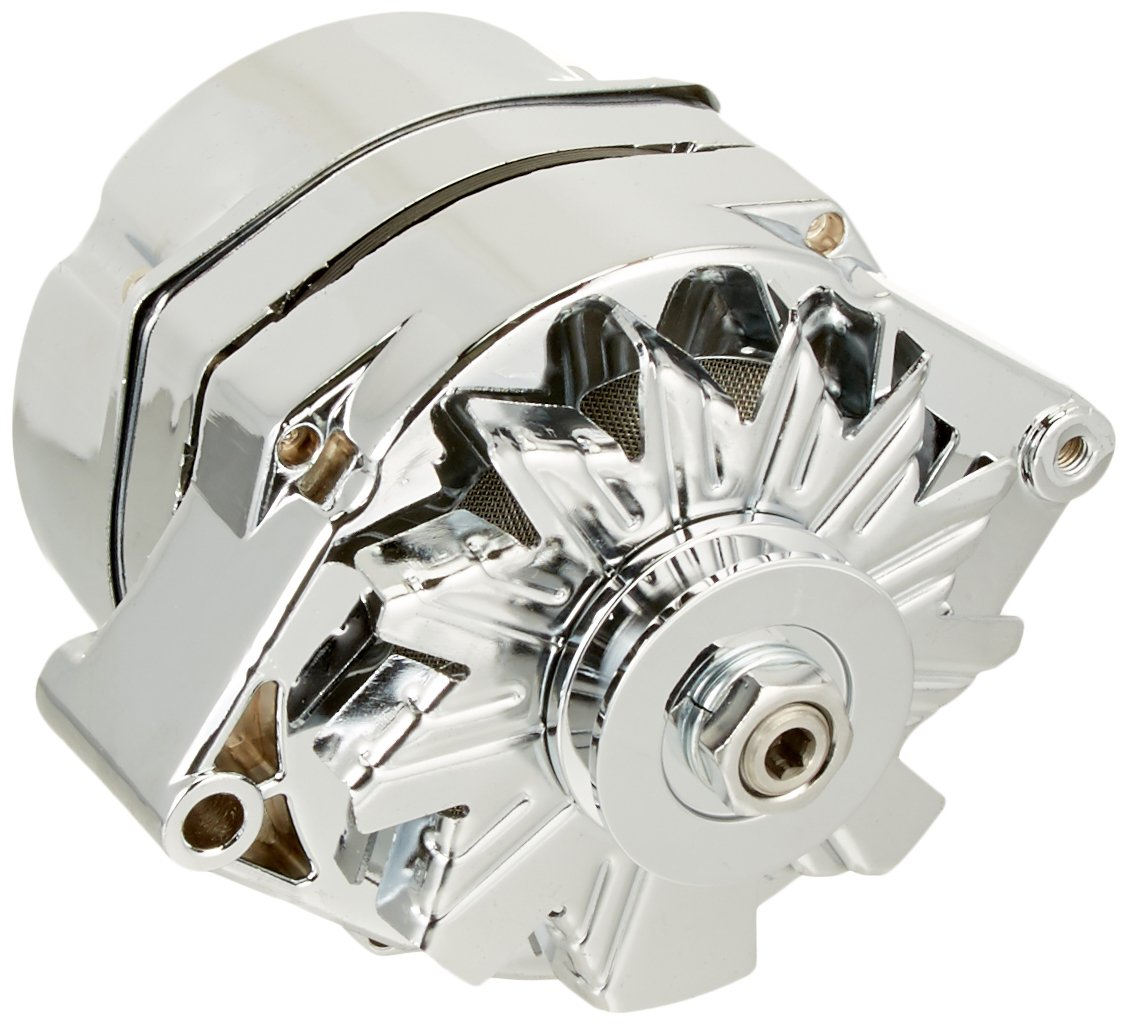 Db Electrical Adr0334 C Alternator For Marine Mercruiser How Does Old Single Wire Delco Work 105 Amp Chrome 10si 1 V Belt Automotive