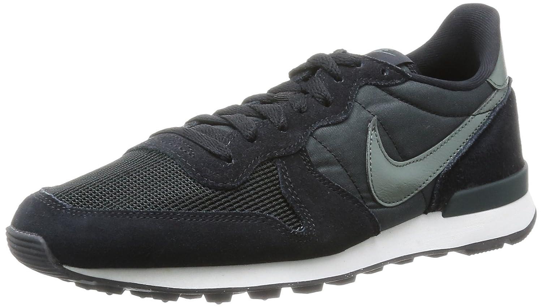 new concept 46136 bd26d Nike Mens Internationalist Trainers Black Schwarz (Black Dark Mica Green-Sl-Anthracite)  Size  41  Amazon.co.uk  Shoes   Bags